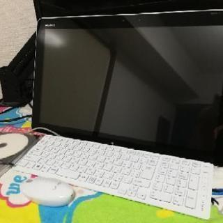 本日限定5000円引き【中古】タブレットのようなデスクトップパソ...