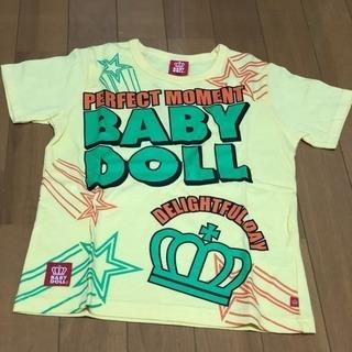 【新品未使用】babydoll  Tシャツ