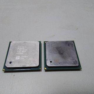 Intel製CPU Celeron1.7GHzとCeleron2GHz