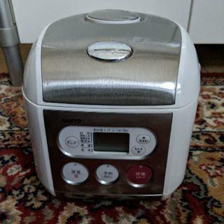 【SANYO ECJ-IS35(SW)】3.5合炊飯器【1/14まで】