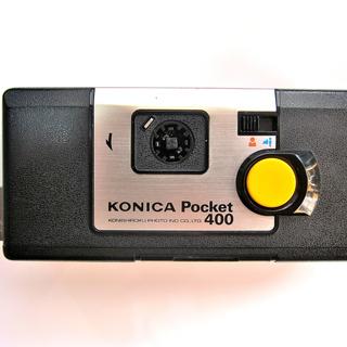 値下げ! KONICA  Pocket400 ケース付