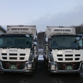 【地域密着企業!】中型トラックドライバー ローカル定期運行【盛岡起点】