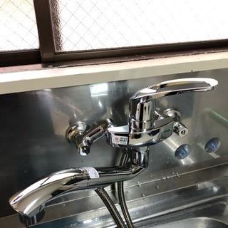 水栓取替工事します。