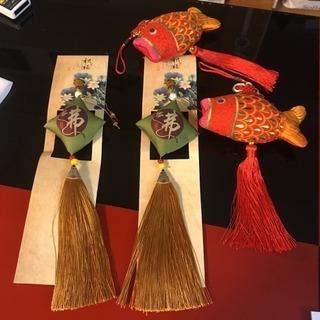 中国飾り 仏具 香袋 新品未使用