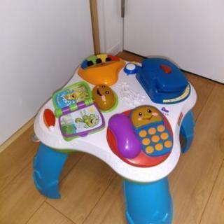 フィッシャープライス おしゃべりバイリンガルテーブル 知育玩具
