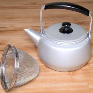 【無料】 ★麦茶や番茶に★容量3リットルのやかん★ステンレスの茶...