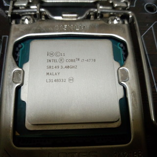 CPU Intel Core i7-4770 中古
