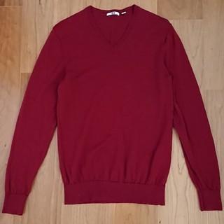 【美品】ユニクロ Vネック セーター