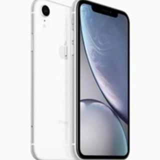 新品 未使用 iPhoneXR 128GBホワイト ロック解除 ...