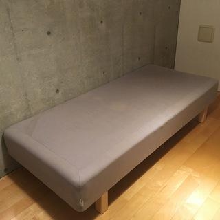 【本日最終】IKEA シングルベッド スプリング脚付マットレス ...