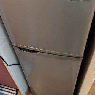 【引き取り限定】シャープ 2ドア冷蔵庫 容量118L