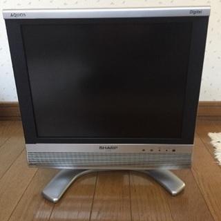 シャープ 15インチ 液晶テレビ 2007年製