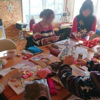 編み物教室、生徒募集
