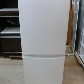 SHARP 2ドア 冷凍冷蔵庫 SJ-D14B 2016年製 中古品