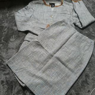 最終値下!LANVIN ツイードスカートスーツ