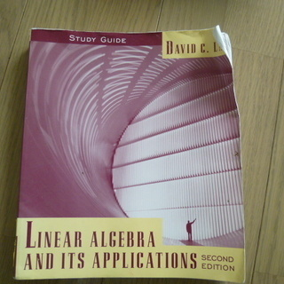 LAY  LINEAR ALGEBRA AND ITS APPL...