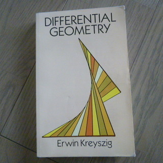 Kreyszig   DIFFERENTIAL GEOMETRY...