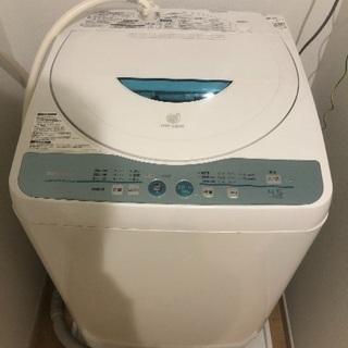洗濯機 SHARP 4.5