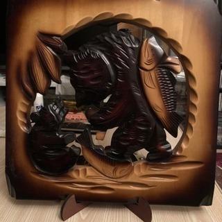 アイヌ 北海道 クマ 民芸品 木彫りの熊