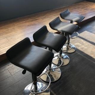 カウンター椅子 4脚セット