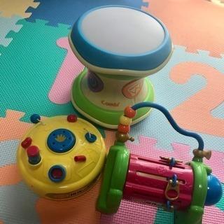 (お取引中です)お布団セット&おもちゃ3点セット