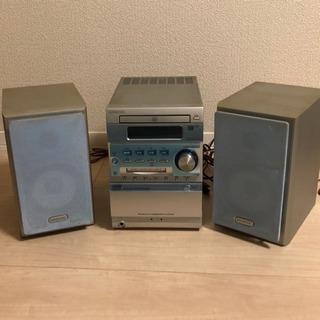ケンウッド オーディオ CD/MD/カセットコンポ