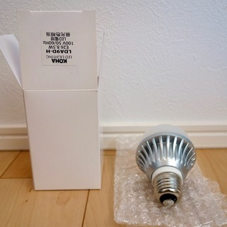 LED電球 昼光色 口金E26 60W相当(8.5W/810ルー...