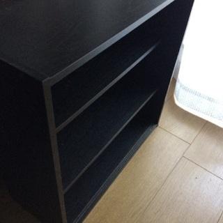 カラーBOX 黒  - 目黒区