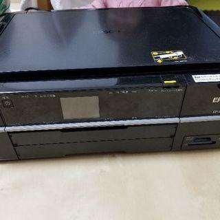 プリンター(EP-803A)と純正インク黒&黒&マゼンタ