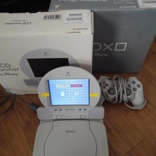 PS one+LCDモニター 完全動作品