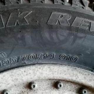 BLIZZAK REVO2 195/70R14  4本