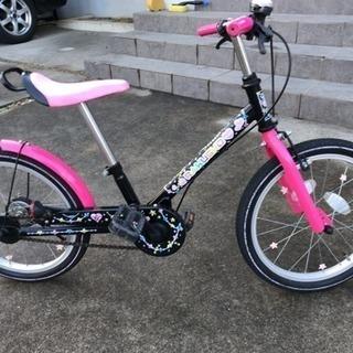 自転車 18インチ 女の子 ラクショーライダー