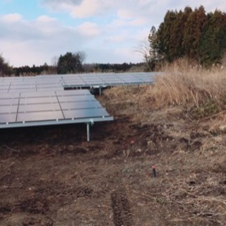 太陽光発電所建設工事一式の画像