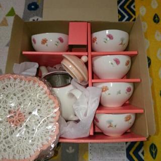 【新品】お客様セット  湯飲み・急須・茶托?