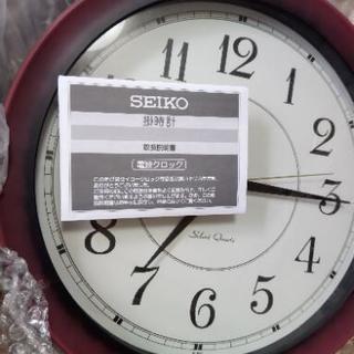 SEIKO 電波時計 新品