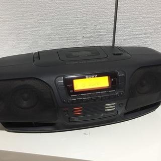 交渉可 SONY CDラジカセ 3枚チェンジャー ZSX-500...