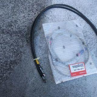 CB1300SFアップハン用ブレーキホース