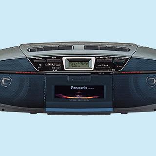 交渉可 新品箱入り CDラジオカセット RX-DT35 デッドストック