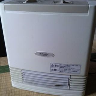 あげます。ナショナル 電気ファンヒーター DS-F1200 中古