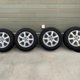 アルミ スタッドレス付き 215/60R16 PCD112 VW...