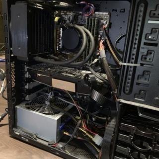 簡易水冷ゲーミングPC i7 4790k SSD
