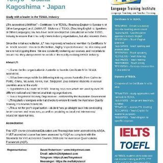 IELTS Test Preparation 2週間・50時間・1...