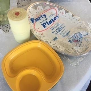 パーティー皿など 無料