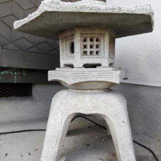 【引き取り限定】石灯籠