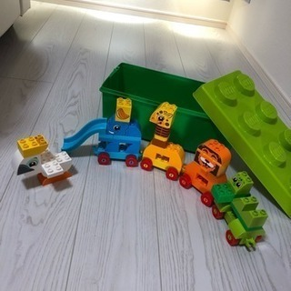 LEGO みどりのコンテナデラックス動物でんしゃ
