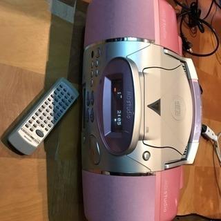 シャープ MD/CDシステム MD-F120-P 2000年製