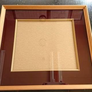 新品未使用長期保管 無垢 37.7×40.8cm 臙脂
