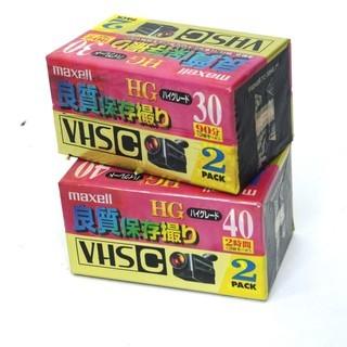 VHS-Cビデオテープ【新品】