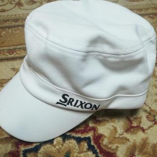 スリクソンゴルフキャップ(白)