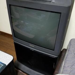 ブラウン管テレビ差し上げます